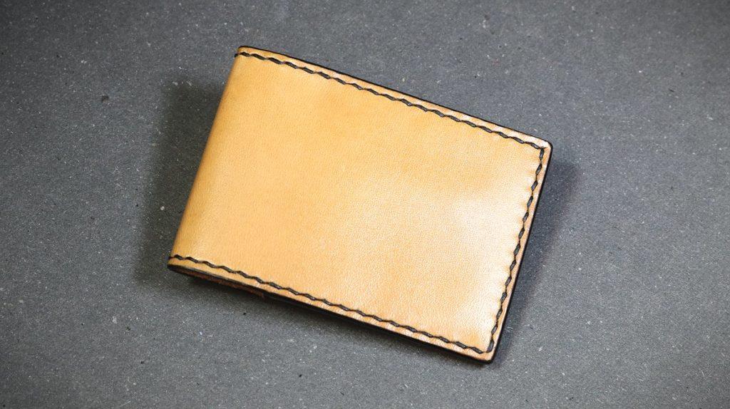cours fabriquer porte carte volets cousu main au point sellier